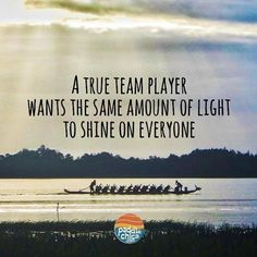 Be a true team player paddlechica dragonboat teamplayer Photo Didihellip