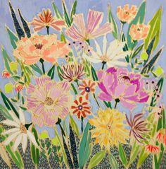 Lulie Wallace Art — 48x48 Flowers for Harriet