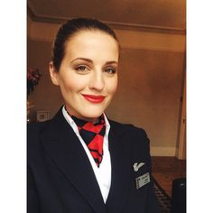 """""""Back to flying on Tuesday after ages off ✌️✈️ #cantwait #toflytoserve #BAdreamz #airhostess #crewlife #flightattendant #britishairways makeup by @stylelobster"""" Photo taken by @jessicaroseparr on Instagram, pinned via the InstaPin iOS App! http://www.instapinapp.com (02/01/2015)"""