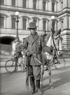 1915 Red Fox James, a Blackfoot Indian, rode horseback from state to state seeking approval for a day to honor Indians. On Dec. 14, 1915, he presented the endorsements of 24 state governments at the White House. There is no record, however, of such a national day being proclaimed. (Library of Congress)