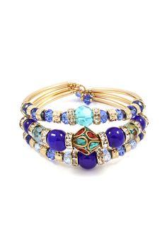 Kadeline Bracelet in Royal Agate on Emma Stine Limited