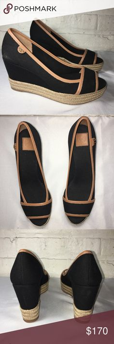 1f5d16c2cab Tory Burch Espadrille Wedges Brand new without box never worn espadrille  Wedges size 37 Tory Burch