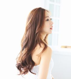 Impact on women hairstyle ♥ [PINKAGE] [Extra Hair] Injomo Attached hair) simple wave 1 piece (supreme Yarns) Tween Hairstyles For Girls, Korean Hairstyle Long, Wig Styles, Curly Hair Styles, Ulzzang Hair, Natural Wigs, Love Hair, Hair Trends, Hair Inspiration