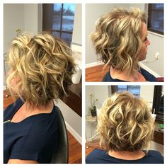 Love this girl and her hair #edgesalon #hair #haircut #hairstyle #bob #blonde #redkencolor #redkencolor #shedsaveme #butonlycausemystylingskills