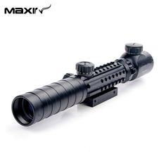 New 3-9x32EG Tactical Red&Green Illuminated Reticle Hunting Rifle Scope with Lens Cover