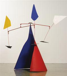 Alexander Calder, Conique Rouge
