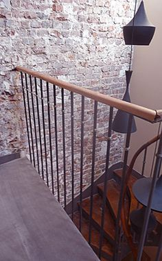 1000 images about rampe escalier on pinterest metals mezzanine and stairs. Black Bedroom Furniture Sets. Home Design Ideas