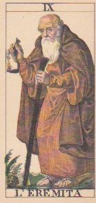 Tarocchino Lombardo, l'Eremita