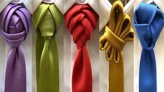 Cool Tie Knots, Cool Ties, 5 Min Crafts, Tie Crafts, Mens Ties Crafts, Different Tie Knots, Tie Knot Styles, Tie A Necktie, Clothing Hacks