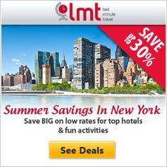Summer Savings in New York. Save up to 30% on NYC Hotels & Activities