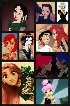 Disney punk princess