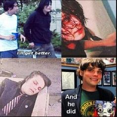 And he did. This is just one of the MANY reasons he's such an inspiration to people. We love you, Gerard. <3