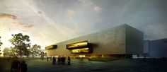 Helsinki Central Library by Merêces Architecture Vizualization Studio - Design is a competition proposal by AND-RÉ