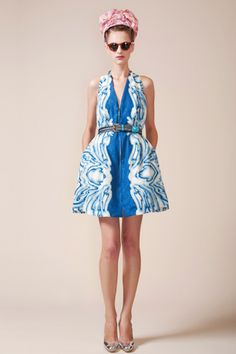 Spring Dress by Peter Som: I could pin everything from Peter Som's Spring 2010 collection.