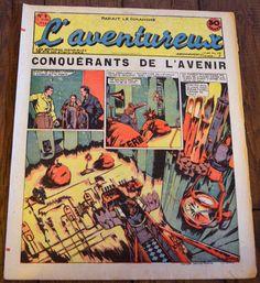 L'aventureux 1ere Annee 1936 N 6 : Conquerants de L'avenir