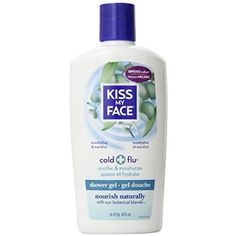 Kiss My Face Shower Gel Cold  Flu  Eucalyptus  16 oz ** Click on the image for additional details.