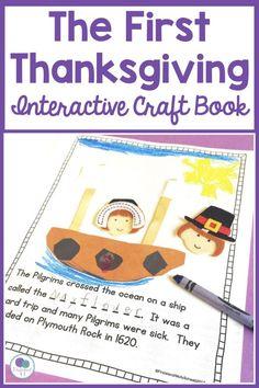 The First Thanksgiving Activities For First Grade - Firstieland