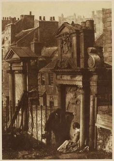 Covenanter's Tomb, Greyfriars Churchyard, Edinburgh, Scotland. Photographed by David Octavius Hill and Robert Adamson, circa Victorian London, Victorian Era, Old Pictures, Old Photos, Frankenstein, Old Cemeteries, Graveyards, Diane Arbus, Robert Mapplethorpe