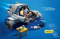 Print Campaign for NET by Bruno Trad, via Behance