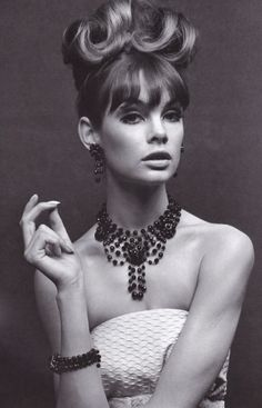 1960's Supermodel Jean Shrimpton. <3