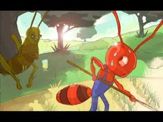 Aesop's Fable: The Ant and the Grasshopper... It is best to plan ahead.