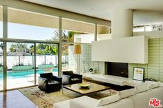 Mid-century stunner in the Hollywood Hills looks like it just dropped out of Mad Men!