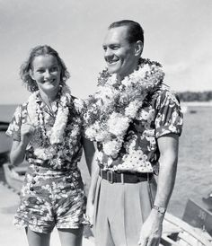 Heiress Doris Duke and Husband James Cromwell