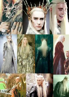 {Thranduil has the best costumes of all the Elves.  He is the fairest of them all :)} - He sure is!! :D