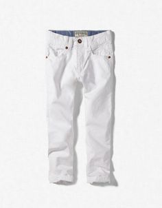 white pants boy - Pi Pants