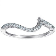Unique wedding bands from Scoville Jewelers.16 RD DIA  MATCHINE BAND