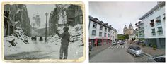 Rue devant l'Etang, Malmedy 1944.
