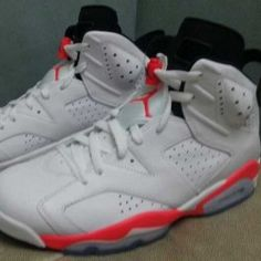 brand new f9e7d 3778f The return of the Air Jordan 6 in 2014 will also include the timeless  original White Infrared colorway.