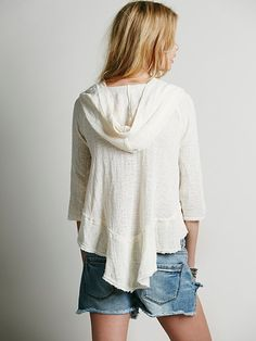Endless Summer Gauze Hoodie at Free People Clothing Boutique