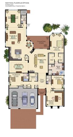 Mediterranean homes – Mediterranean Home Decor House Layout Plans, New House Plans, Dream House Plans, House Layouts, House Floor Plans, My Dream Home, Mediterranean Home Decor, House Blueprints, Sims House