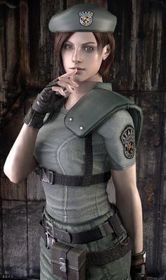 Jill Valentine-resident evil remastered