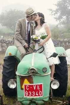 La boda campestre de Patricia & Quique en Galicia {fotos, Tamara de la Fuente}