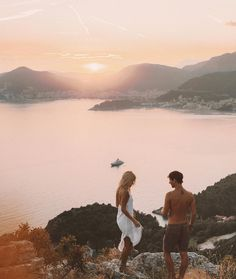 """105.5k Likes, 796 Comments - LAUREN BULLEN (@gypsea_lust) on Instagram: """"Sunsets from up above Budva, so happy to be exploring Montenegro for the first time @budva.travel…"""""""