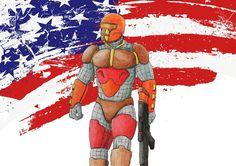 Dirck Sway aka Amber Soldier