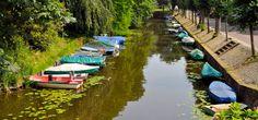 Precioso canal en Naarden - Holanda