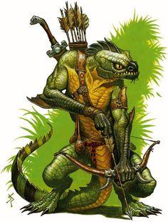poison dusk lizardman