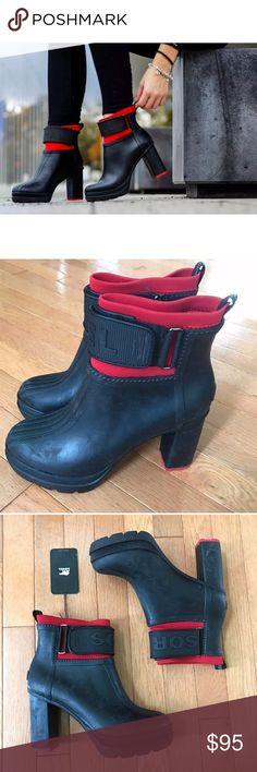Sorel rain boots 7.5 new Sorel rain boots 7.5 new with tag no box Sorel Shoes Winter & Rain Boots
