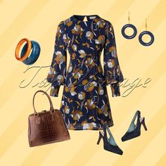 Your Monday will be a party when wearing this beautiful look!