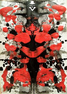 Rorschach Test Painting