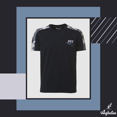 The quality of our #Game material matched with the #Camouflage dynamism. Try the #madeinItaly excellence, a collaboration between Federtennis and Australian.  #Australian #FIT #italia #menswear #newcollection #madeinitaly #black