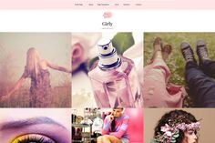Girly-Feminine WordPress Theme by Anariel Design on Creative Market