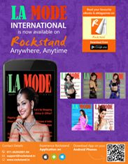 La Mode International now available on Rockstand at any Time, any where through out the globe. www.rockstand.in