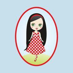 Awesome 'Blythe+doll' design on TeePublic!
