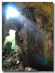 Umang Cave in the Caramoan Peninsula, Camarines Sur Philippines