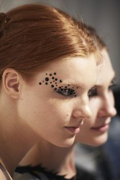 Backstage Beauty: Undercover Spring/ Summer 2015 Ready-to-Wear