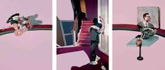 Intercepted by Gravitation | Francis Bacon triptychs
